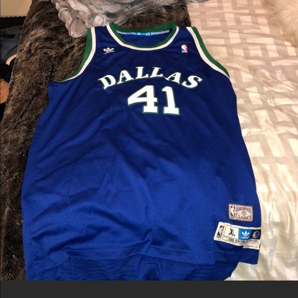 quality design 904ea e4a73 Authentic Dirk Nowitzki Basketball Jersey